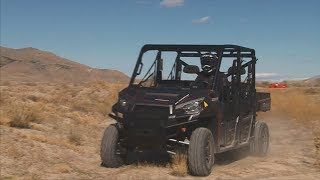 8. 2014 Polaris 900 Crew Cab Review