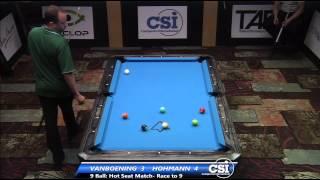 2014 CSI USBTC 9 Ball Hotseat: Shane Van Boening Vs Thorsten Hohmann
