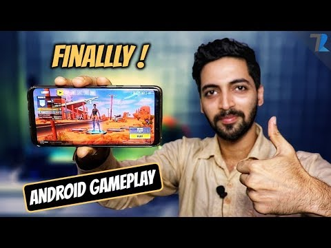 Fortnite On Android Gameplay - How To Download With Instructions