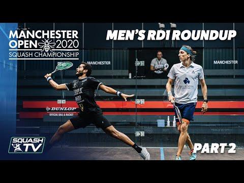 Squash: Manchester Open 2020 - Men's Rd1 Roundup [Pt.2]