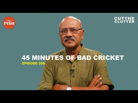 45 minutes of bad cricket & what it says about the state of India's World Cup team