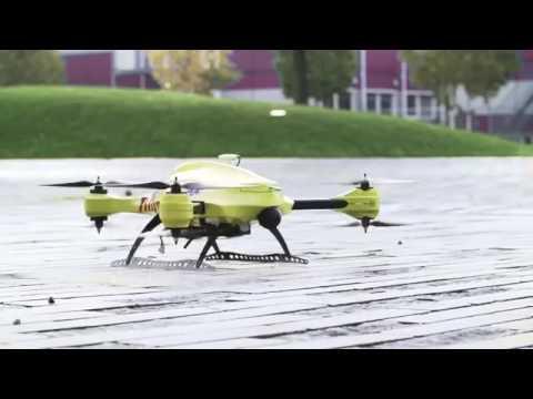 Drone ambulancia. Alec Momont