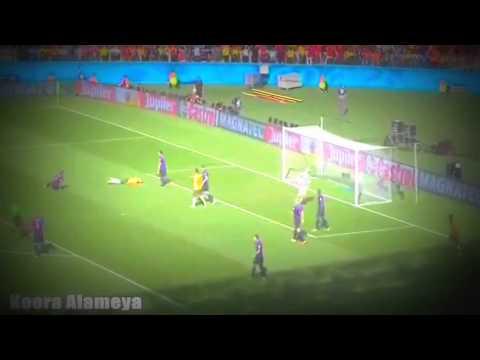 كأس العالم ٢٠١٤ – الدور الاول – المجموعة الثانية – ملخص مباراة هولندا/استراليا