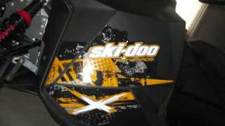 10. SKI-DOO renegade X 2010