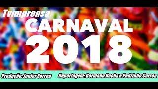 Imprensa Folia Matéria Lançamento Oficial do Carnaval 2018 de 9 á 13 de Fevereiro