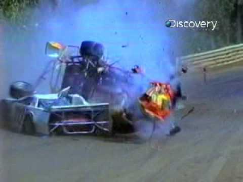 Destroyed in Seconds - Stock Car Crash