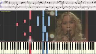 Победитель Забирает Всё (The Winner Takes It All) - ABBA (Ноты) (piano cover)