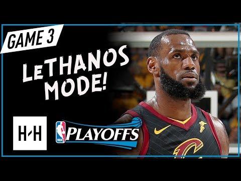 LeBron James CRAZY Full Game 3 Highlights vs Celtics 2018 Playoffs ECF - 27 Pts, 12 Assists, BLOWOUT (видео)