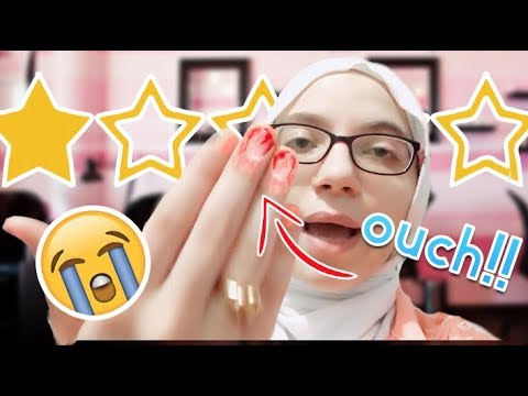 The WORST Reviewed NAIL SALON in My City - *Nail Tech LEFT to do her NAILS*