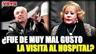 ¡Silvia Pinal REACCIONÓ a la visita de su ex pareja Enrique Guzmán en el hospital!