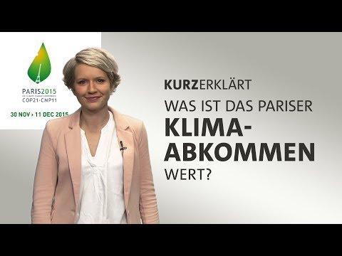 Was ist das Pariser Klimaabkommen wert?