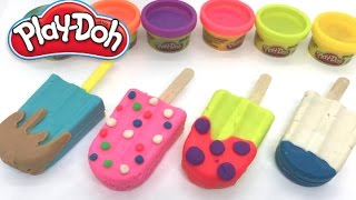 How To Make Ice Cream Colour With Play Doh - Play Doh Ice Cream Playset Playdough
