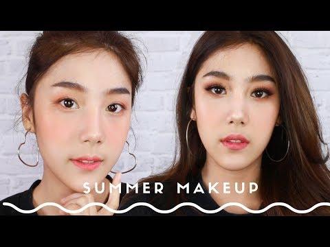 HOWTO Summer Makeup l 2 lookสุดปังต้อนรับซัมเมอร์ l smile parada