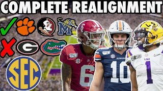 COMPLETE SEC REALIGNMENT + Q&A by Harris Highlights