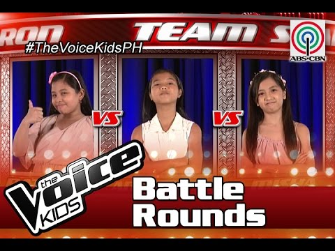 "The Voice Kids Philippines Battle Rounds 2016: ""i Turn To You"" By Misha, Antonetthe & Patricia"