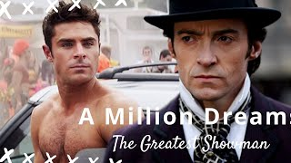 Video [MUSIC VIDEO] The Greatest Showman - A Million Dreams with Lyrics MP3, 3GP, MP4, WEBM, AVI, FLV Maret 2018