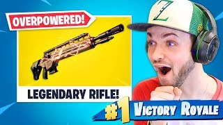 *NEW* LEGENDARY Rifle is OVERPOWERED! by Ali-A