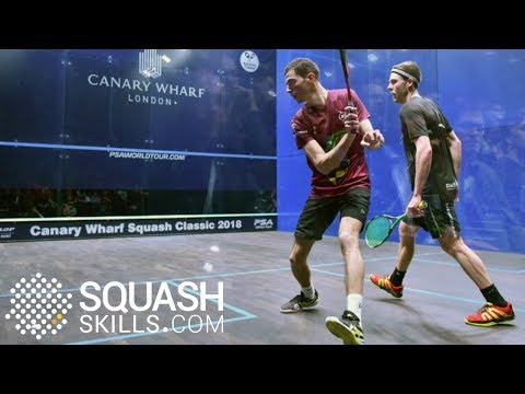 Squash tips: Drop shots from the back of the court