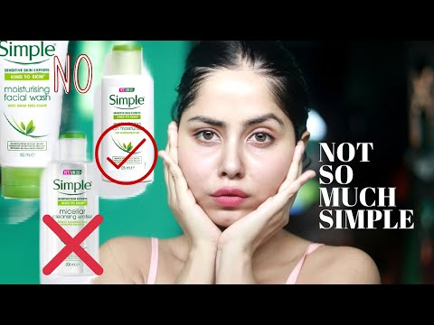 SIMPLE SKIN CARE REVIEW (Not What I Thought)