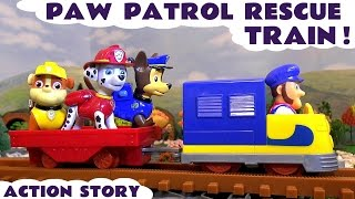 Paw Patrol Rescue Train