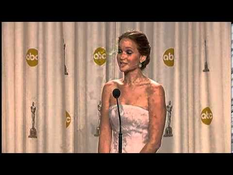 Jennifer Lawrence wins best actress Oscars 2013