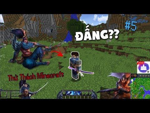 KHI ĐẤNG XÂM CHIẾM CẢ THẾ GIỚI MINECRAFT !! - Thử Thách Minecraft #5 - Thời lượng: 10 phút.