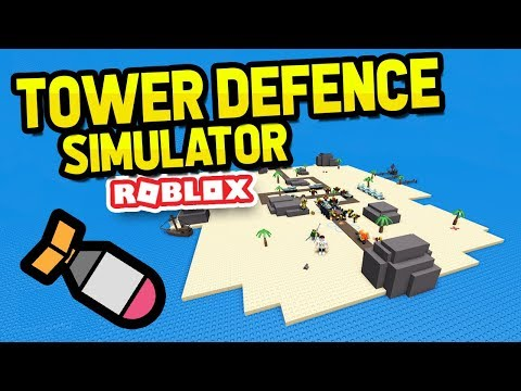 EXPLOSIVE ROCKETS In ROBLOX TOWER DEFENCE SIMULATOR