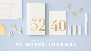 Be inspired to start a journal and reflect on each week with our 52 Weeks Journal https://goo.gl/BB1Ue3.