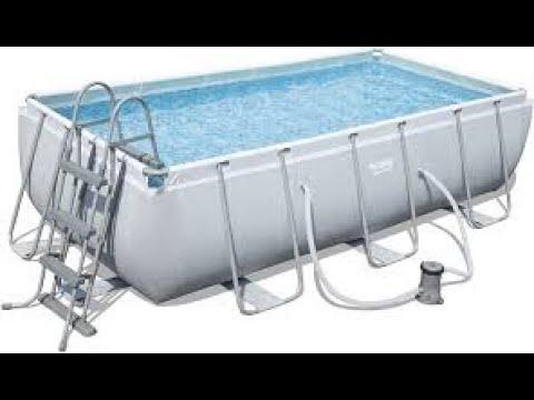 MONTAGGIO PISCINA BESTWAY tutorial piscina bestway PISCINA come montare piscina bestway 4x2x1