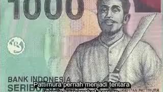 Viral! Uang 1000 Berbicara, Kisah Pattimura