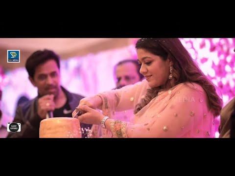 Meghana Raj Baby Shower Cake Cutting Full Video   Dhruva Sarja   Arjun Sarja   Chiranjeevi   Prerana