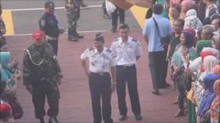 Upacara Penerimaan Calon Taruna Taruni STIP Jakarta 2016