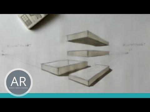 Zeichnen lernen – Zweipunktperspektive – Akademie Ruhr Tutorial