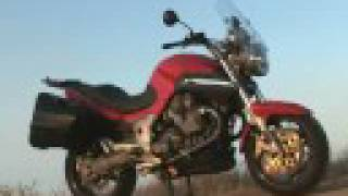 5. 2007 Air-Cooled Twins Naked Comparo - 2007 Moto Guzzi Greva 1100 Motorcycle Review