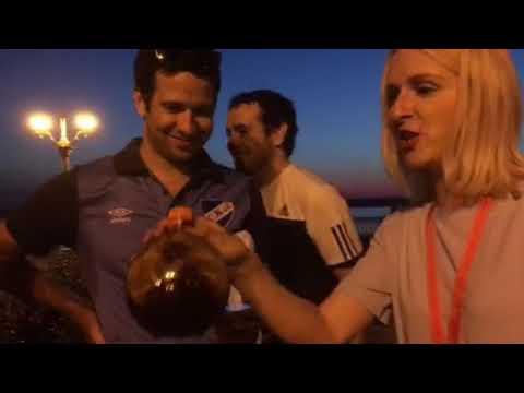 Уругвайцы купались в Волге и выпили квасу