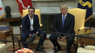 Trump With Greek PM: Obamacare Virtually Dead