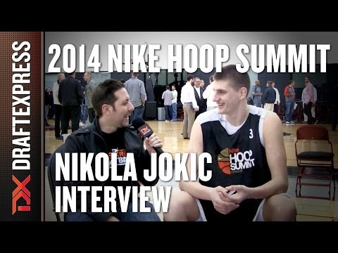 Nikola Jokic - 2014 Nike Hoop Summit - Interview