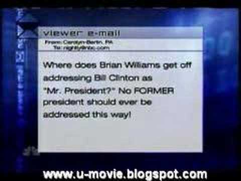 Brian Williams corrects uneducated FOX viewer