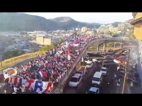 Ultra Fiel || Club Olimpia vs Real Sociedad || Somos Locales En Toda Honduras || 22-05-16 - La Ultra Fiel - Club Deportivo Olimpia - Honduras - América Central