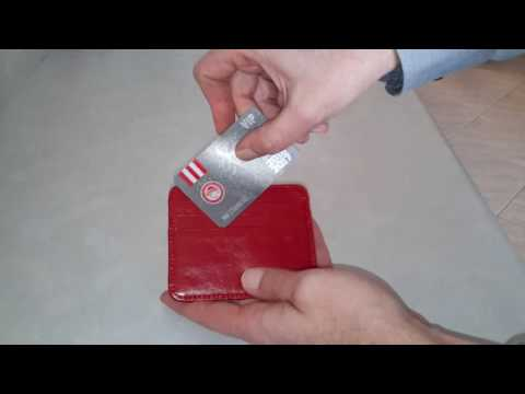 Men Genuine Leather Small Money Card Holder from BANGGOOD