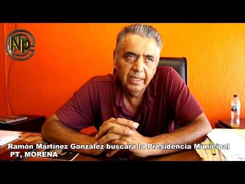 Ramón Martínez González buscara la Presidencia Municipal de Peñasco, por el PT, MORENA