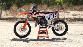 3. 2017 KTM 150 SX | First Impression | TransWorld Motocross