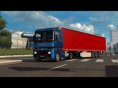 EE9 V8 Mack sound for the Renault Magnum integral v1.1