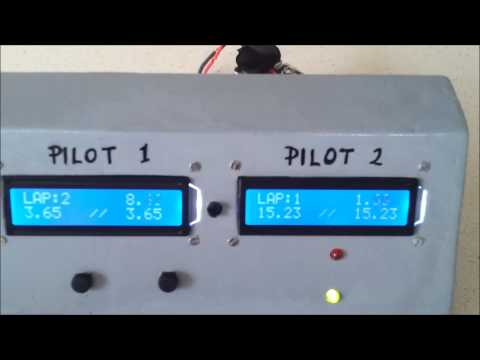 Lap counter & timing system version 2