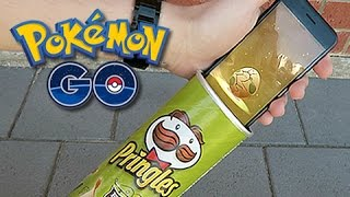 Hatching Pokemon GO Eggs With Pringles Can by Unlisted Leaf