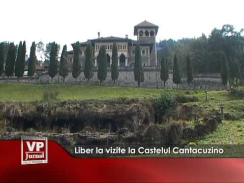 Liber la vizite la Castelul Cantacuzino