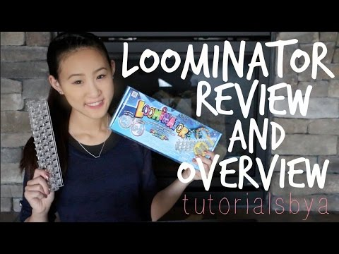 video review - GET YOUR OWN LOOMINATOR AT RAINBOWLOOM.COM! At about 6:30 I accidentally said
