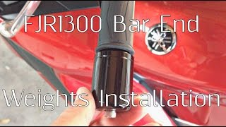 9. FJR1300 Bar End Weights Installation And Comparison