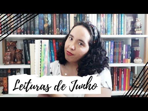 Leituras de Junho (2019) + SORTEIO | Semana de Vídeo Todo Dia #6 | Um Livro e Só
