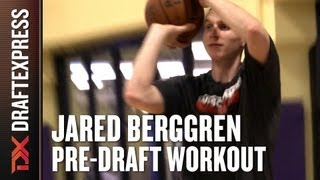 Jared Berggren - 2013 NBA Pre-Draft Workout & Interview